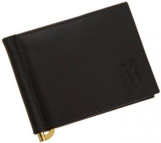 PGA TOUR Mens Front Pocket Id Wallet,Black,One Size