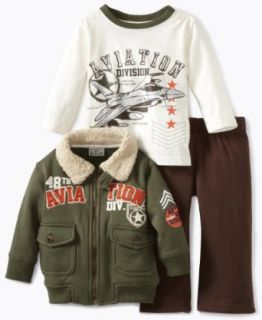 Little Rebels Baby boys Infant Three Piece 48th Aviation