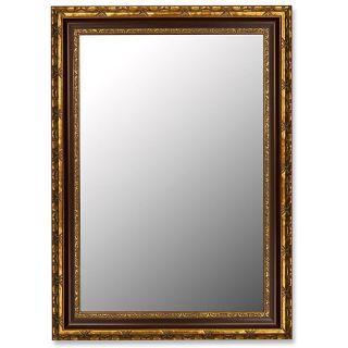 Silver Antique Rust Accent Mirror