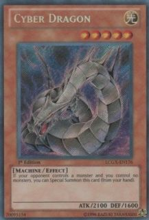 Yu Gi Oh!   Cyber Dragon (LCGX EN176)   Legendary