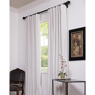Signature Off White Velvet Blackout 108 Inch Curtain Panel