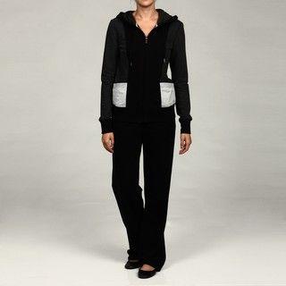 Calvin Klein Performance Womens Hoodie and Side panel Sweatpants