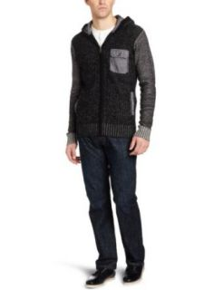 Marc Ecko Cut & Sew Mens Marled Zip Sweater Hoodie