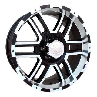 20x9 ION Alloy Style 179 (Black / Machined) Wheels/Rims 8x170 (179