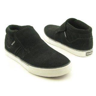 SUPRA EE Diablo Slip On Black Skate Shoes Mens Size 8 Shoes