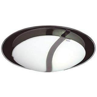 Energy Star 2 light Frosted Glass Flush Mount Light Fixture Today $62