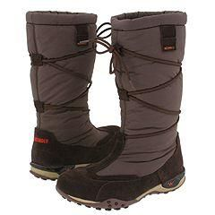Allrounder by Mephisto Mistral Brown Suede/Mesh Boots