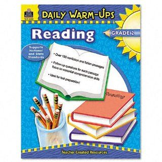Daily Warm Ups Reading, Grade 2, Paperback, 176 Pages