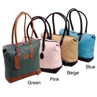 Bugatti Carmelita Womens Columbian Leather Tote Bag
