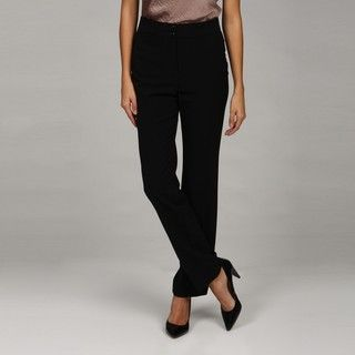 Larsen Grey Womens Slim Leg Stretch Pants