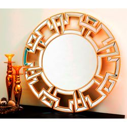 Round Wall Mirror Today $255.99 Sale $230.39 Save 10%