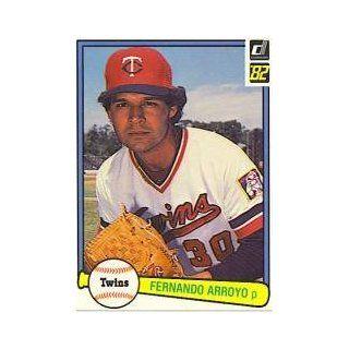 1982 Donruss #177 Fernando Arroyo Collectibles