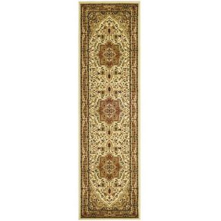 Lyndhurst Collection Ivory/ Rust Rug (4 x 6)