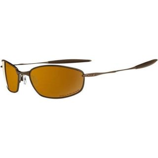 Oakley Unisex Whisker TI Brown Chrome Sport Sunglasses