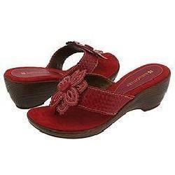 Naturalizer Azalea Red Leather