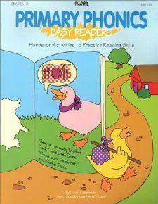 Primary Phonics: Easy Readers: Lillian Lieberman, Marilynn G. Barr