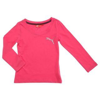 PUMA Tee shirt Fille Rose   Achat / Vente T SHIRT PUMA Tee shirt Fille