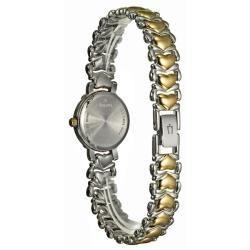Bulova Womens Diamonds Two tone Steel Quartz Diamond Watch