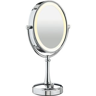 Conair BE117 Double Sided 10x 1x Variable Lighting Mirror