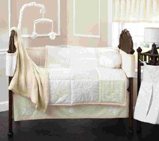 Beansprout Bella 6 Piece Crib Set, Cream Baby