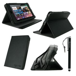 rooCASE 2n1 Multi Angle Folio Case Cover Stand with Stylus for Google