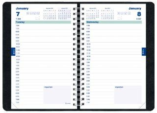 Brownline Daily Academic Planner, August 2012   July 2013