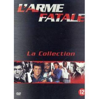 COFFRET LARME FATALE 1, 2, 3 & 4 en DVD FILM pas cher