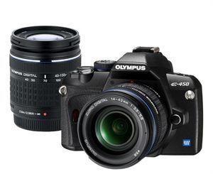 Avis Olympus E 450 Double Kit (EZ 1442 & EZ 4015 2) –