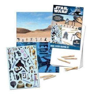 Stickers   Star Wars Magic Sticker + Feuille à…   Achat / Vente