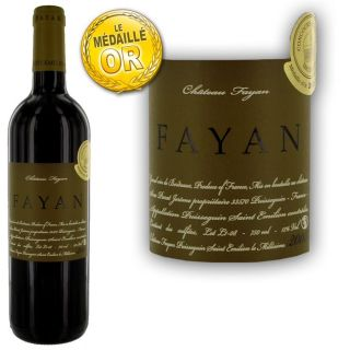 Château Fayan 2008   Vin rouge   Bordeaux   Puisseguin Saint Emilion