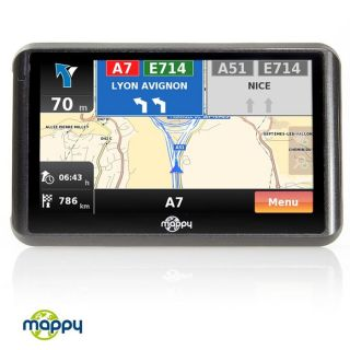 Mappy Ulti 505ND Europe   Achat / Vente GPS AUTONOME Mappy Ulti 505ND