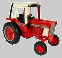 INTERNATIONAL 186 HYDRO farm toy tractor NEW wide front