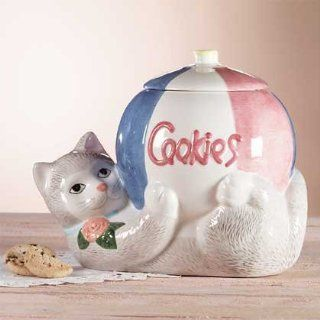 CAT COOKIE JAR