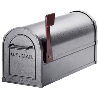 Heavy duty Rural Pewter Mailbox Today $90.99 4.9 (8 reviews)