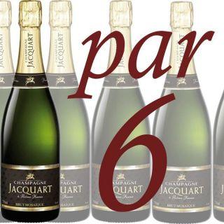 Jacquart Brut Mosaïque (Caisse de 6 bouteilles)   Achat / Vente