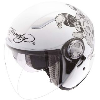 ED HARDY Casque Jet Death or Glory   Achat / Vente CASQUE ED HARDY