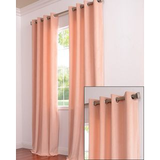 Signature Grommet Petal Velvet 120 Inch Curtain Panel