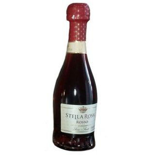 Conte dAlba Stella Rosa Rosso Italy NV 187 mL Grocery & Gourmet Food