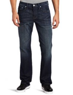 William Rast Mens Luke Straight Leg Jean Clothing