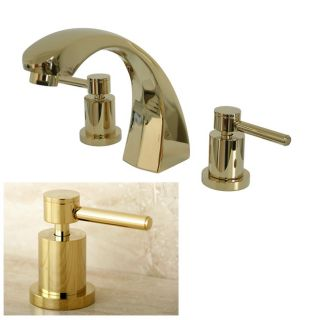 Polished Brass Roman Tub Filler Faucet