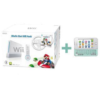 Pack Wii Mario Kart + SAMSUNG S5330 WAVE 533 Blanc   Achat / Vente
