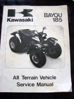 Kawasaki Bayou 185 All Terrain Vehicle Service Manual (KLF185 A1