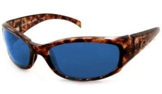 Costa Del Mar Hammerhead Tortoise W/ Blue Mirror Polarized