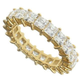 Michael Valitutti Signity 14k Yellow Gold Cubic Zirconia Ring