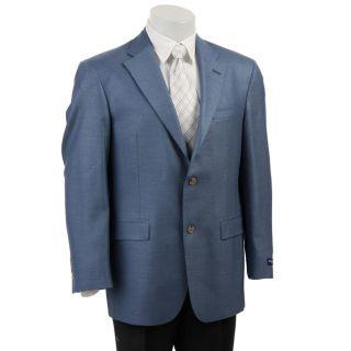 Austin Reed Mens Blue Silk Blend Blazer