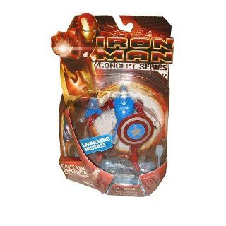 2008 IRON MAN I Concept Series CAPTAIN AMERICA ARMOR 6