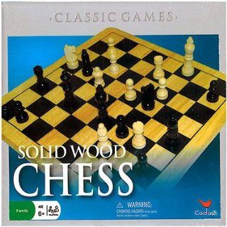 Wood Chess Set Toys & Games