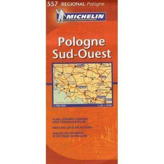 Carte routière régionale 557 ; Pologne sud est   Achat / Vente