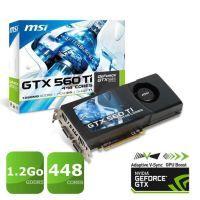 Carte graphique NVIDIA GeForce GTX 560 Ti   GPU cadencé à 732MHz