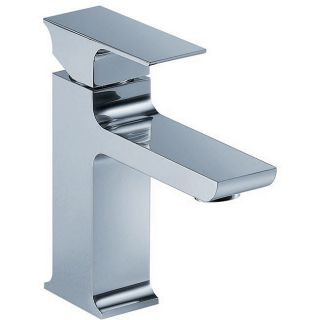Fluid Jovian Single handle Chrome Bathroom Faucet
